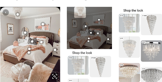 Figure 1 for Shop The Look: Building a Large Scale Visual Shopping System at Pinterest