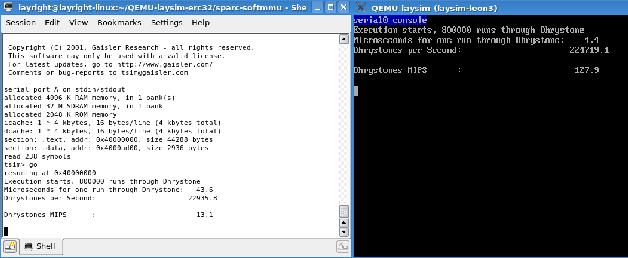 Development of high performance space processor emulator based on