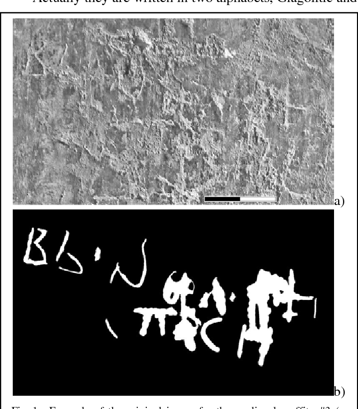 Figure 1 for Capsule Deep Neural Network for Recognition of Historical Graffiti Handwriting