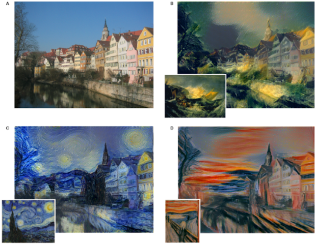 Figure 2 for Mechanisms of Artistic Creativity in Deep Learning Neural Networks