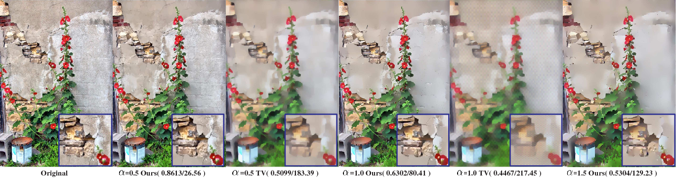 Figure 3 for Visual Data Deblocking using Structural Layer Priors