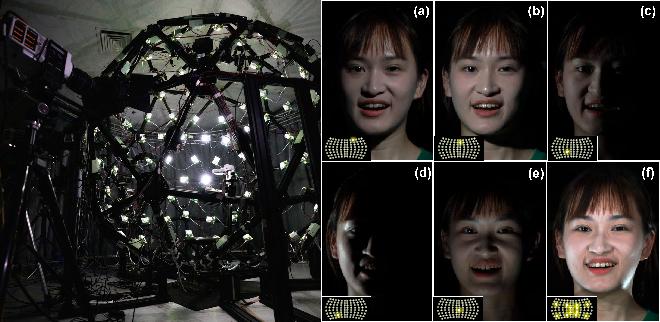 Figure 3 for Relightable Neural Video Portrait
