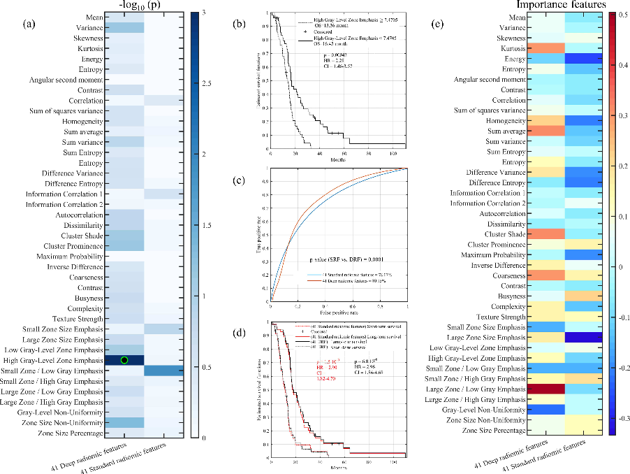 Figure 2 for Deep radiomic features from MRI scans predict survival outcome of recurrent glioblastoma