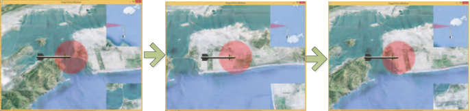 An interactive and dynamic missile-borne SAR simulation software