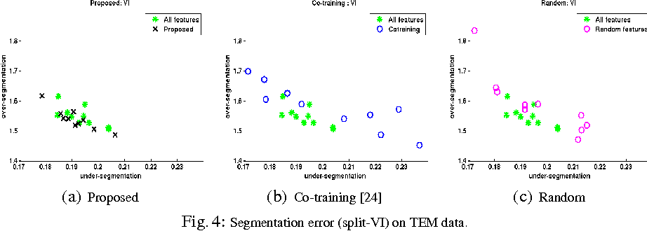 Figure 4 for Small Sample Learning of Superpixel Classifiers for EM Segmentation- Extended Version