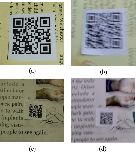Image stablization for 2D barcode in handheld devices - Semantic Scholar