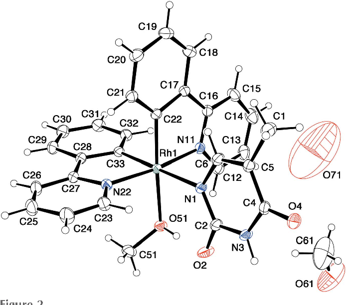 Figure 2 From Crystal Structures Of Bis2 Pyridin 2 Ylphenyl 2 N