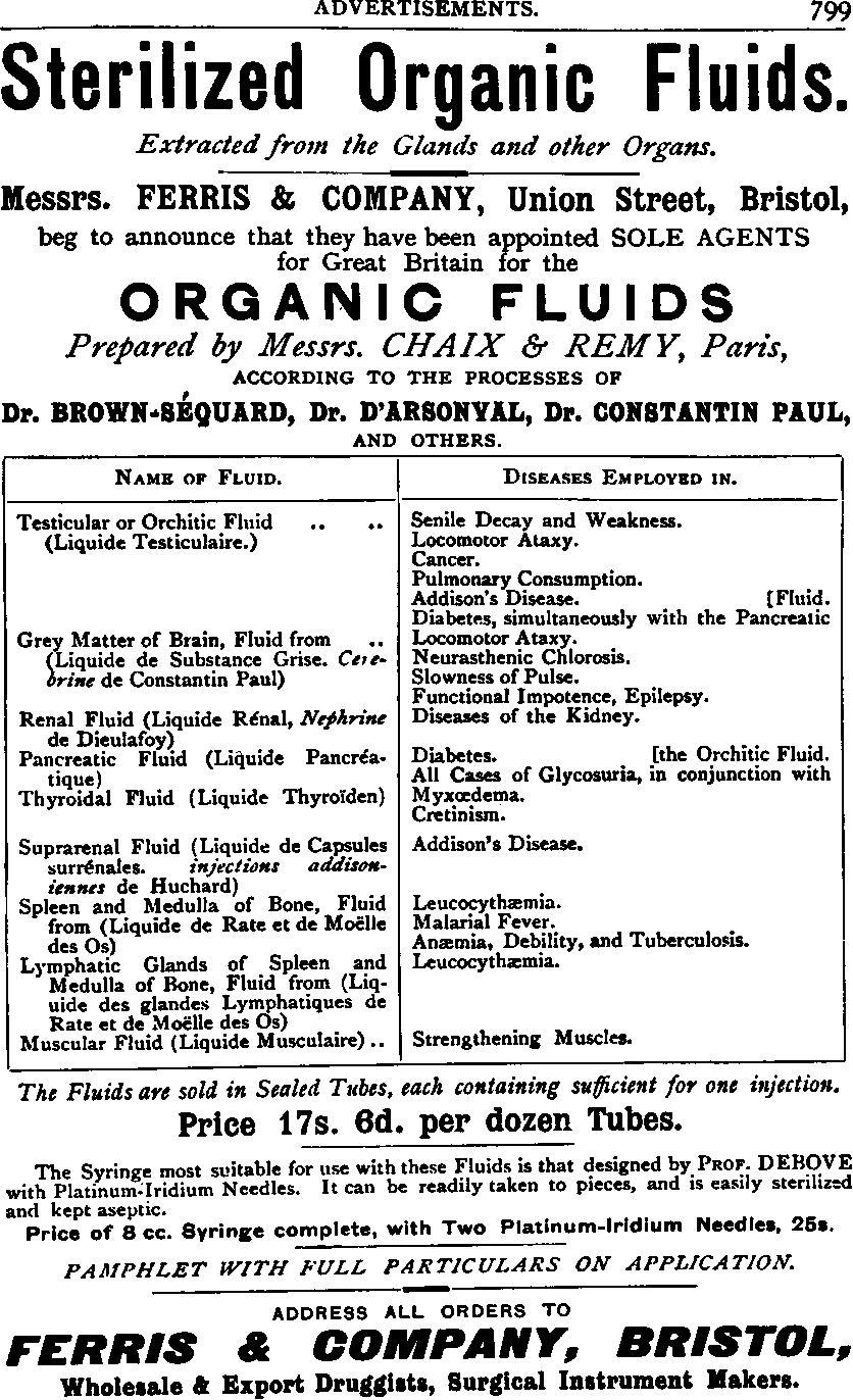 Figure 1 from Pancreatic organotherapy for diabetes, 1889-1921 ...