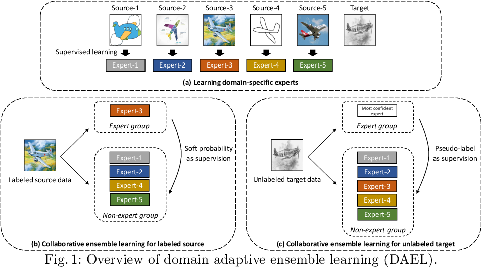 Figure 1 for Domain Adaptive Ensemble Learning
