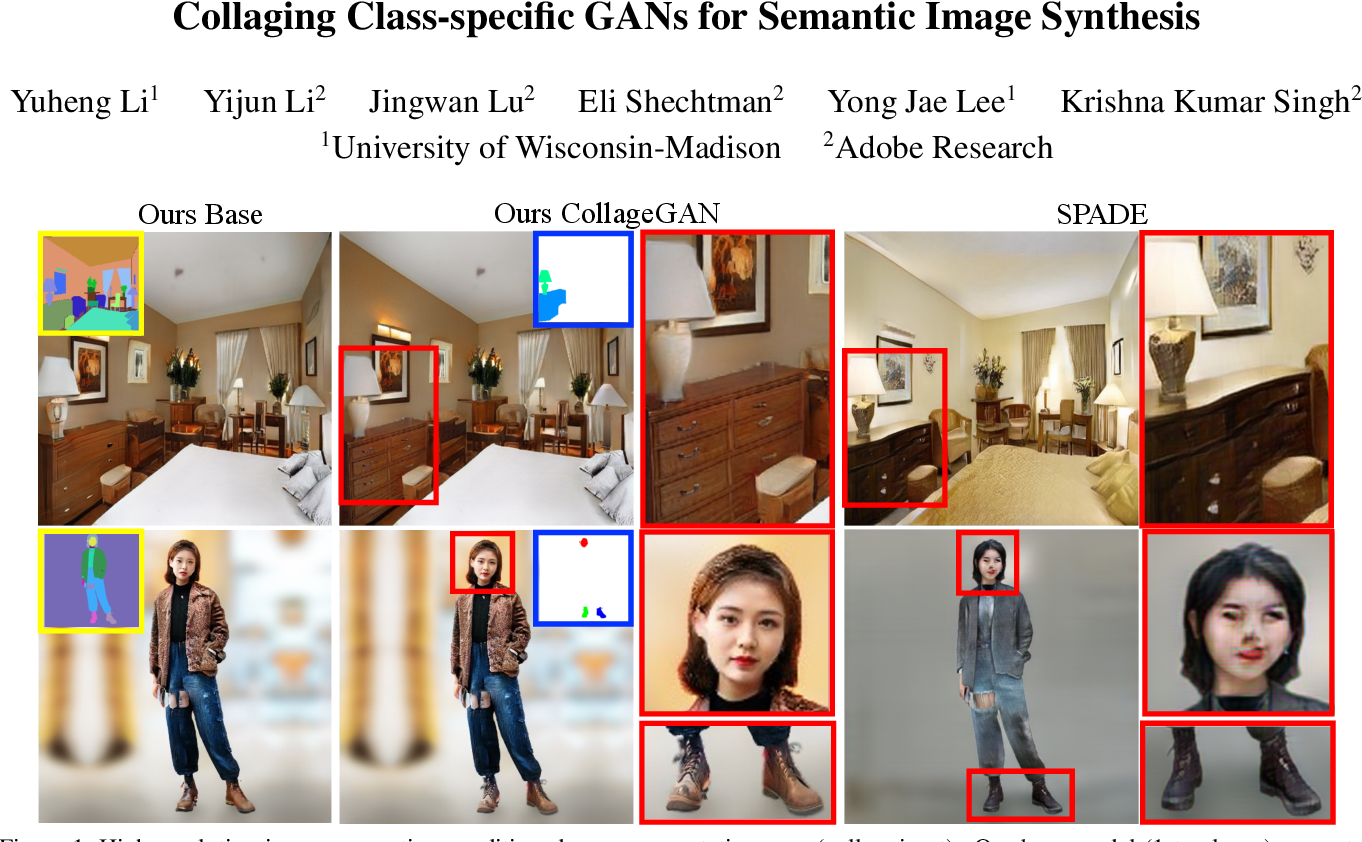 Figure 1 for Collaging Class-specific GANs for Semantic Image Synthesis