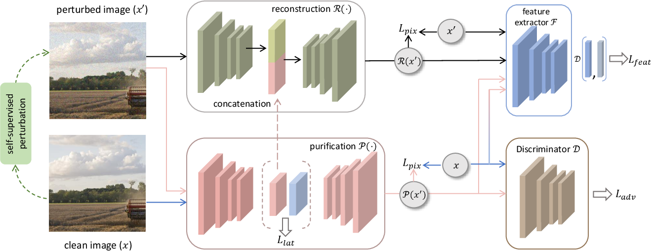 Figure 2 for Adversarial Purification through Representation Disentanglement