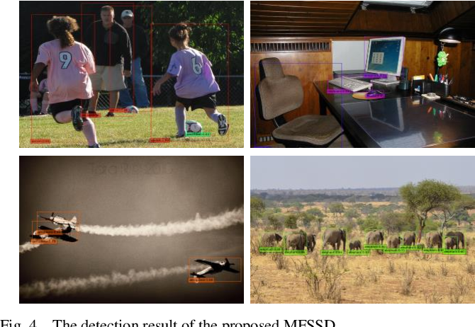 Figure 4 for Small Object Detection Based on Modified FSSD and Model Compression