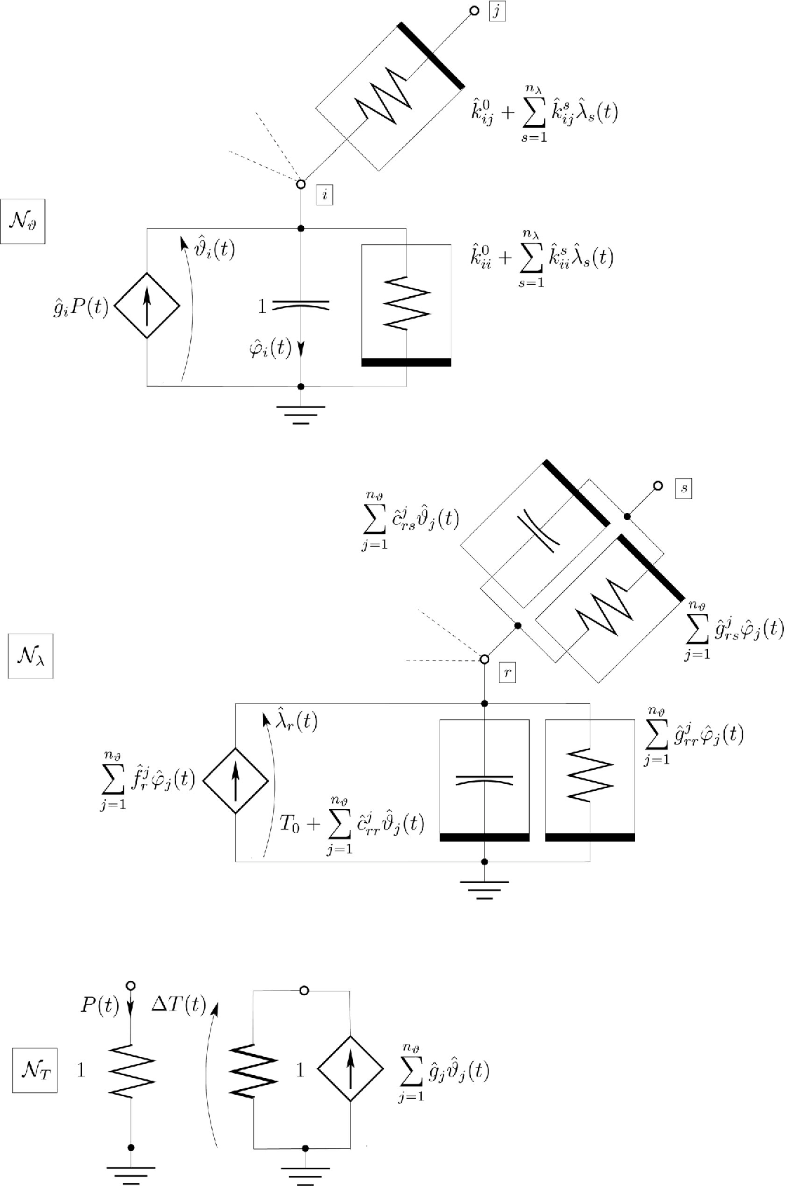 Circuit-Based Electrothermal Simulation of Power Devices by an