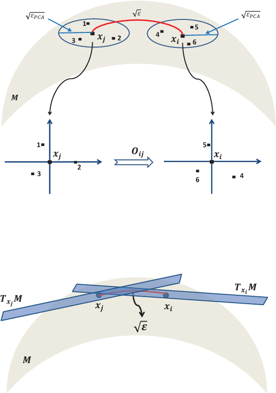 Figure 4 for Vector Diffusion Maps and the Connection Laplacian