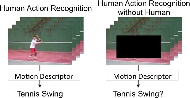 Figure 1 for Human Action Recognition without Human