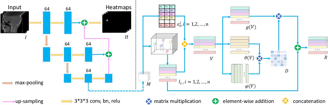 Figure 3 for Structure-Aware Long Short-Term Memory Network for 3D Cephalometric Landmark Detection