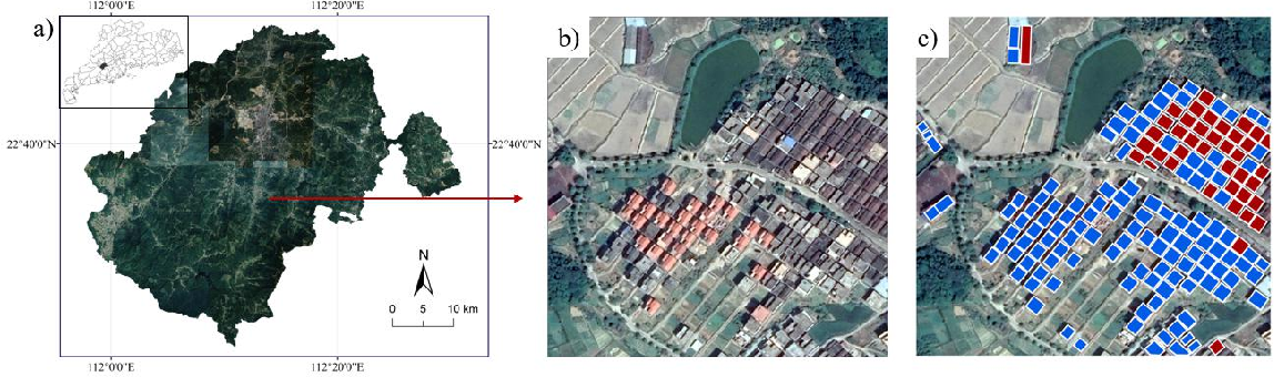 Figure 1 for A Histogram Thresholding Improvement to Mask R-CNN for Scalable Segmentation of New and Old Rural Buildings