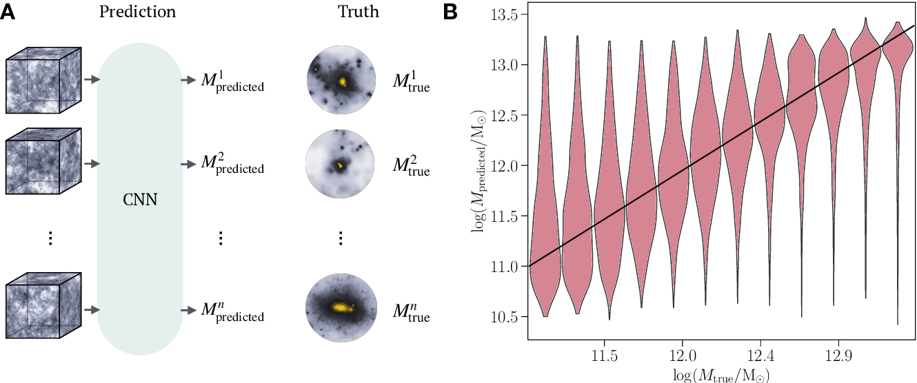 Figure 2 for Deep learning insights into cosmological structure formation