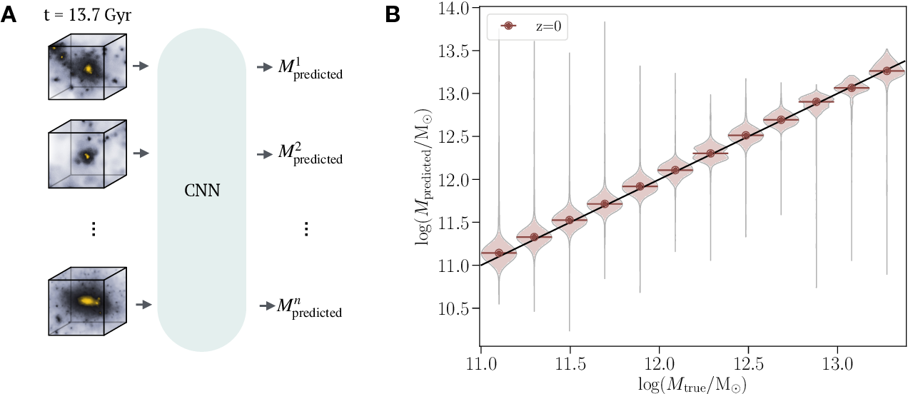 Figure 4 for Deep learning insights into cosmological structure formation