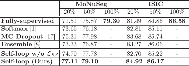 Figure 3 for Self-Loop Uncertainty: A Novel Pseudo-Label for Semi-Supervised Medical Image Segmentation