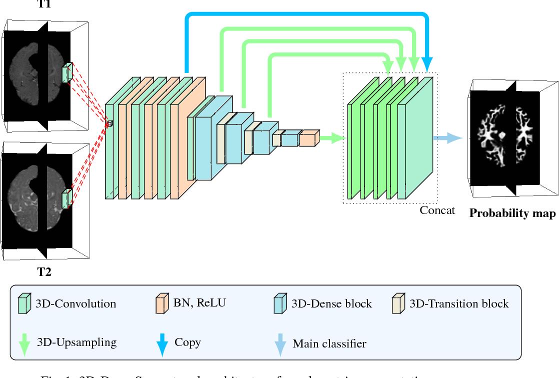 Figure 1 for 3D Densely Convolutional Networks for Volumetric Segmentation