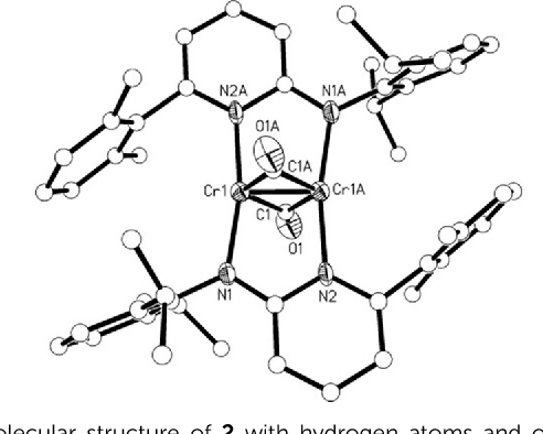 Figure 1 From Co2 And So2 Activation By A Cr Cr Quintuple Bond
