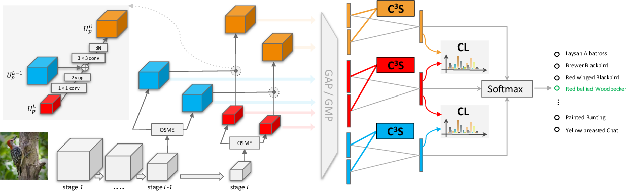 Figure 1 for Cross-X Learning for Fine-Grained Visual Categorization