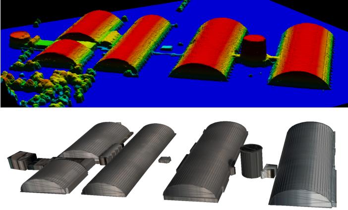 Figure 1 for Primitive-based 3D Building Modeling, Sensor Simulation, and Estimation