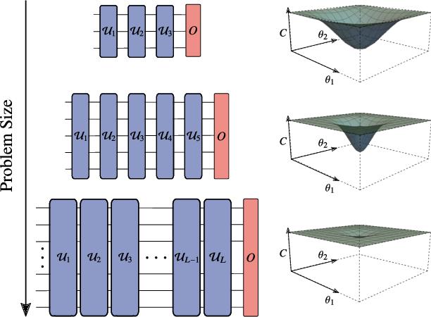 Figure 1 for Noise-Induced Barren Plateaus in Variational Quantum Algorithms