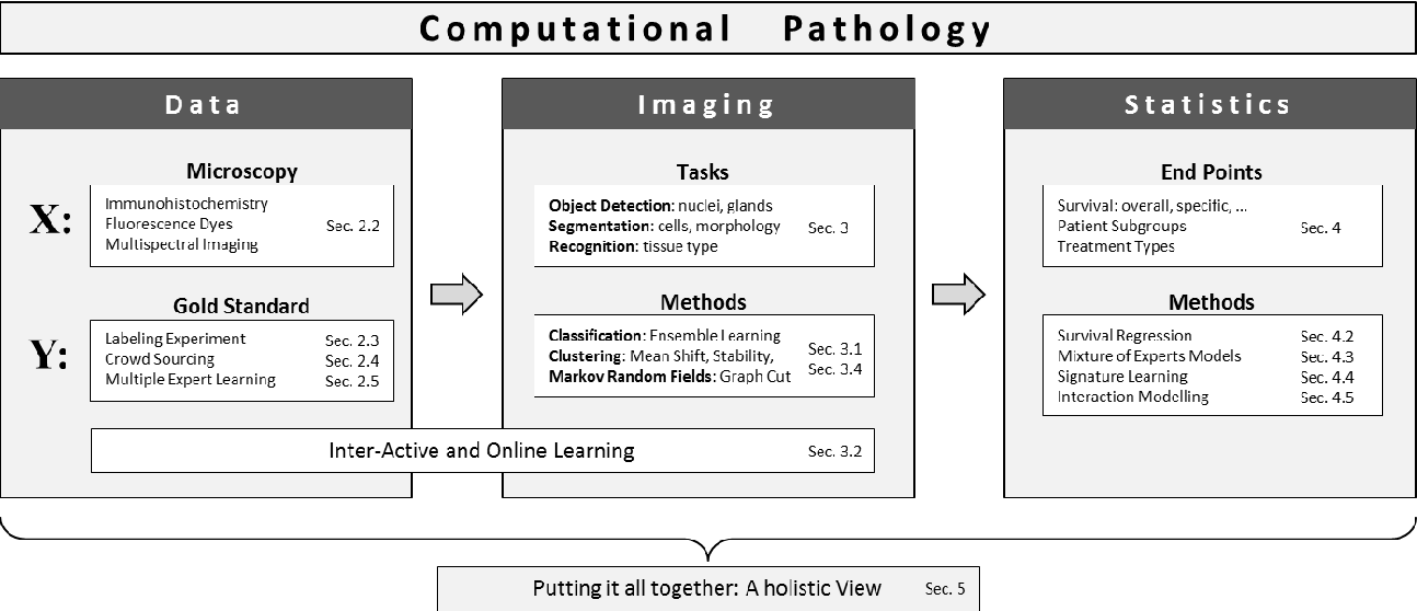 Figure 1 for Computational Pathology: Challenges and Promises for Tissue Analysis