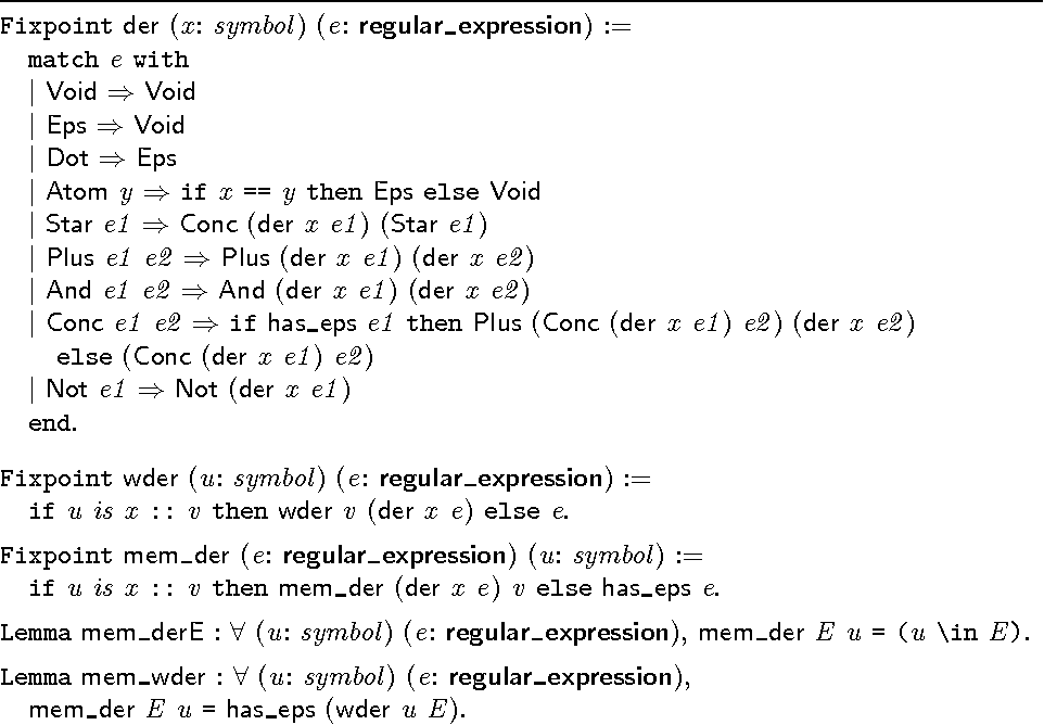 A Decision Procedure For Regular Expression Equivalence In Type