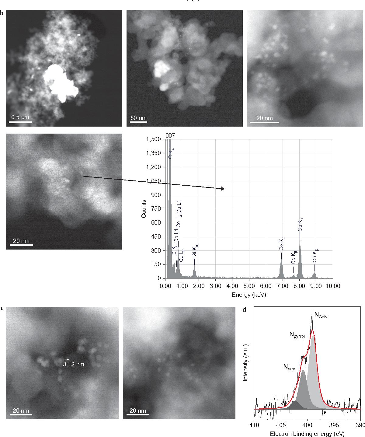 Heterogenized cobalt oxide catalysts for nitroarene reduction by