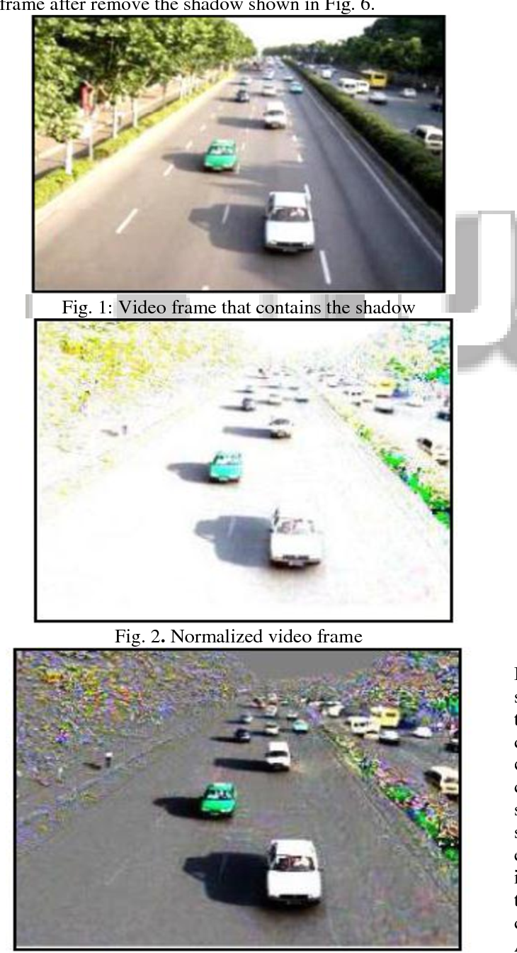 Fig. 2. Normalized video frame