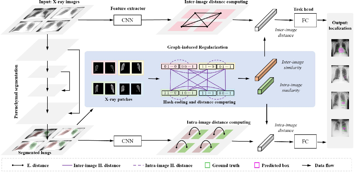 Figure 2 for GREN: Graph-Regularized Embedding Network for Weakly-Supervised Disease Localization in X-ray images