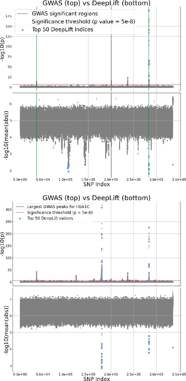 Figure 3 for Deep interpretability for GWAS