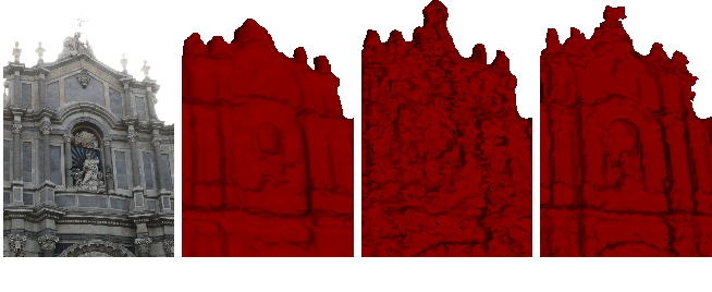 Figure 1 for Semantic 3D Reconstruction with Continuous Regularization and Ray Potentials Using a Visibility Consistency Constraint
