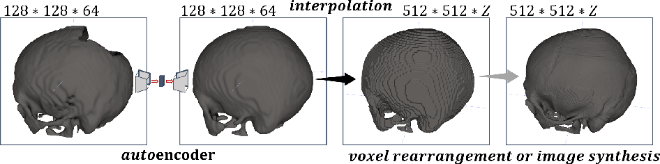 Figure 1 for Learning to Rearrange Voxels in Binary Segmentation Masks for Smooth Manifold Triangulation