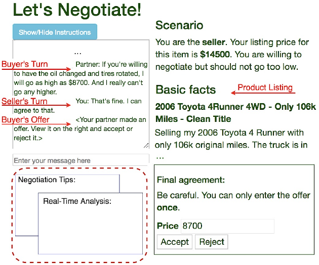 Figure 3 for A Dynamic Strategy Coach for Effective Negotiation