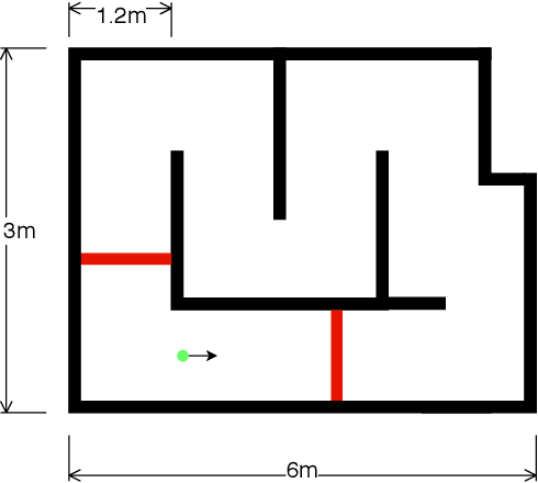 Figure 3 for Autonomous Hybrid Ground/Aerial Mobility in Unknown Environments
