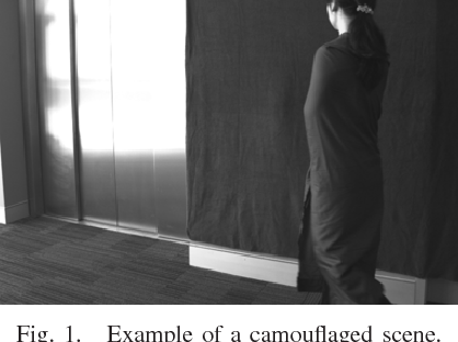 Figure 1 for A Fusion Framework for Camouflaged Moving Foreground Detection in the Wavelet Domain