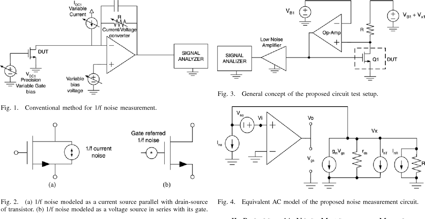 A New Method For Measurement Of Low Frequency Noise Mosfet Ac Current Circuit Figure 4