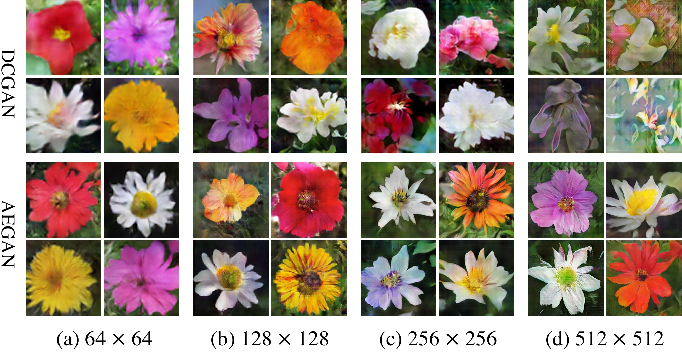 Figure 1 for Auto-Embedding Generative Adversarial Networks for High Resolution Image Synthesis