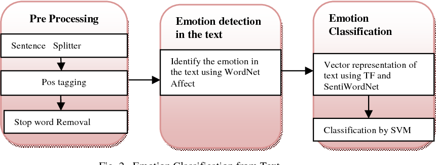 Fig. 2 . Emotion Classification from Text