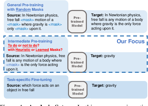 Figure 1 for On the Influence of Masking Policies in Intermediate Pre-training