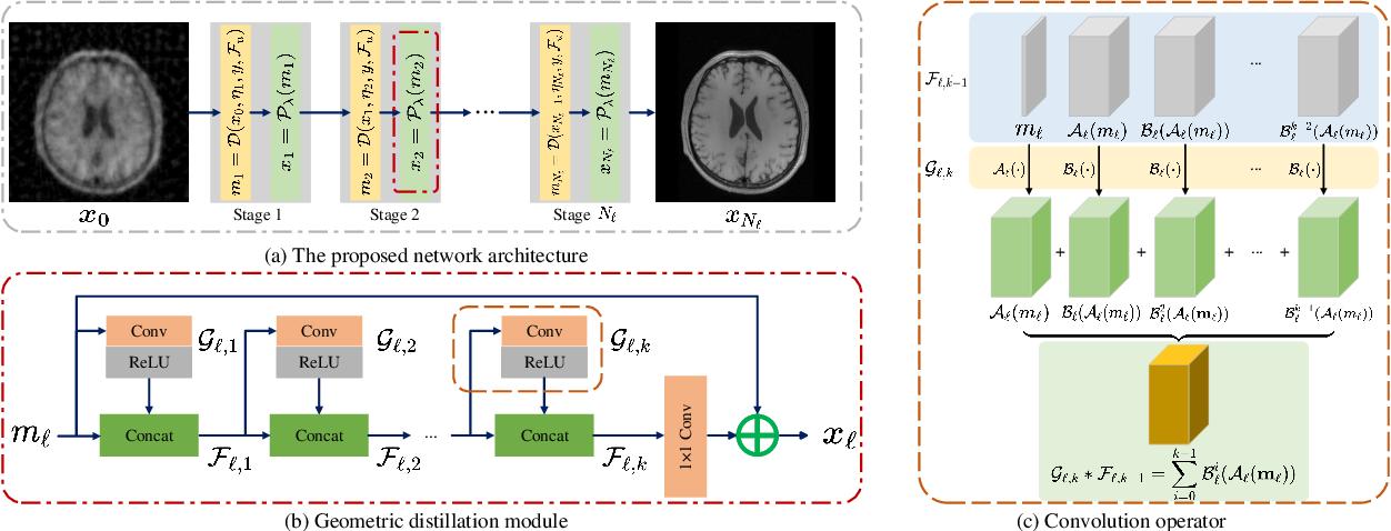 Figure 1 for Deep Geometric Distillation Network for Compressive Sensing MRI