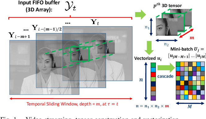 Figure 1 for VIDOSAT: High-dimensional Sparsifying Transform Learning for Online Video Denoising
