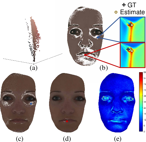 Figure 2 for 3D Face Reconstruction Using Color Photometric Stereo with Uncalibrated Near Point Lights