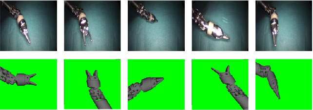 Figure 3 for Segmentation of Surgical Instruments for Minimally-Invasive Robot-Assisted Procedures Using Generative Deep Neural Networks