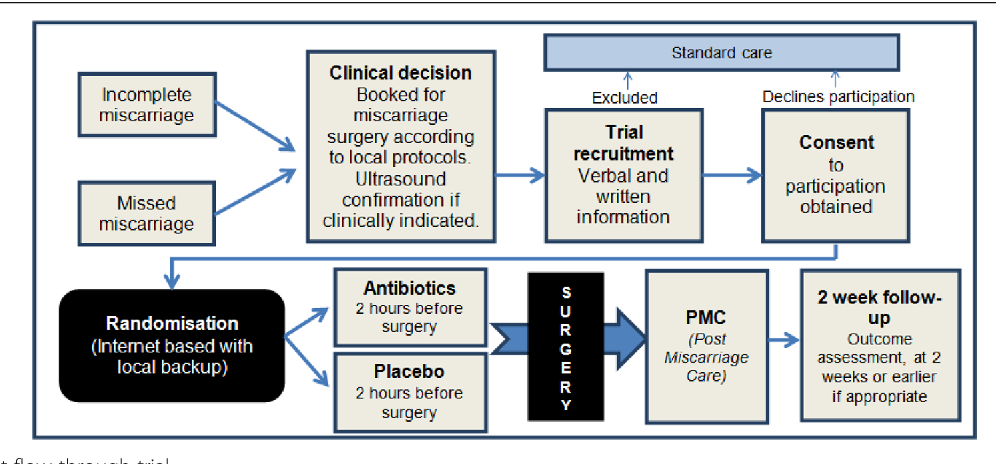 Figure 1 from Prophylactic antibiotics to reduce pelvic infection in