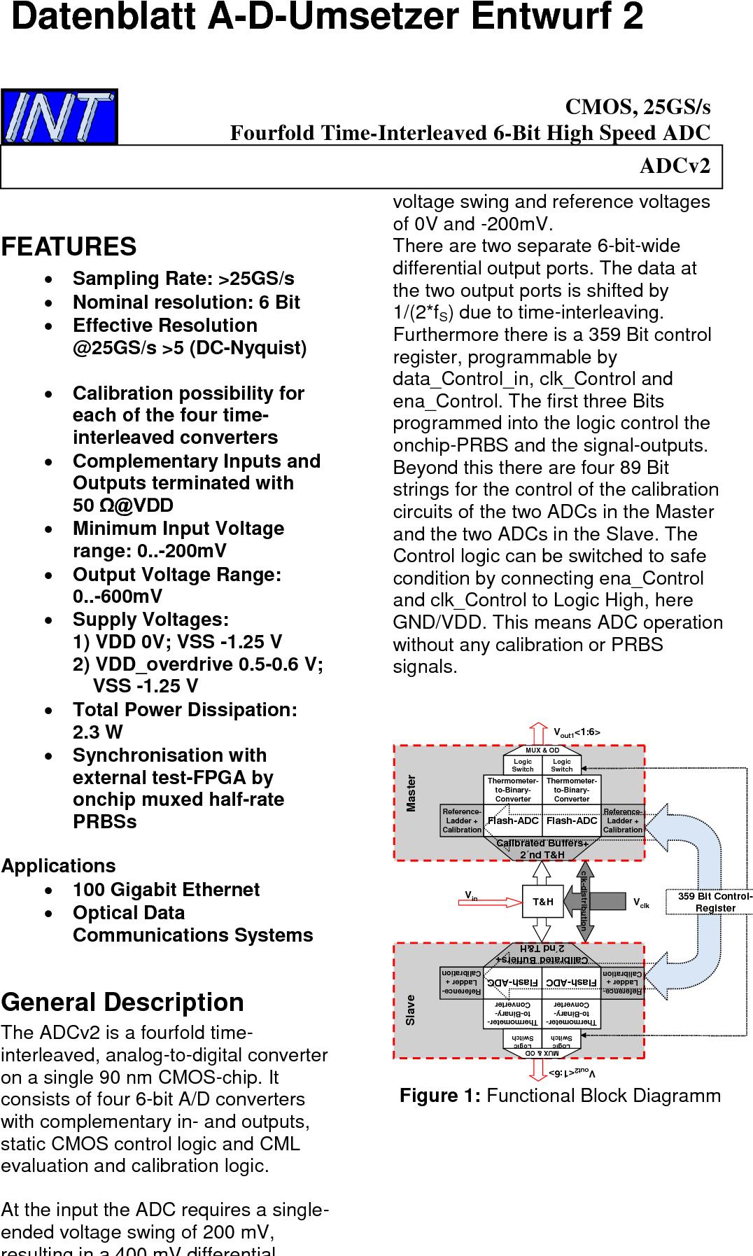 PDF] Analog-Digital-Umsetzer für die hochbitratige